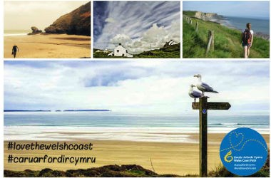 #love the welsh coast