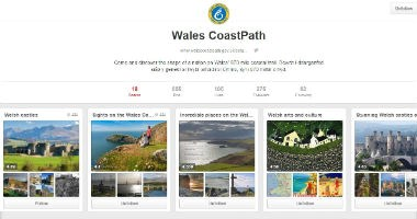 Wales Coast Path on Pinterest