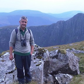 Image of Paul Williams at Cadair Idris