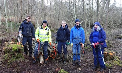 Snowdonia society volunteers
