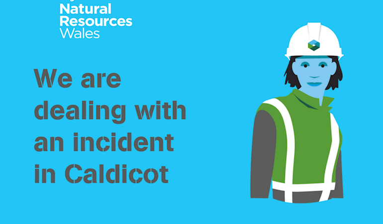 We are dealing with an incident in Caldicot