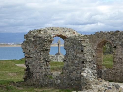 Chapel ruins on Ynys Llanddwyn island