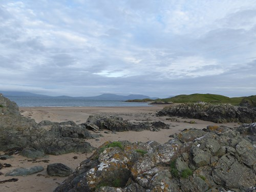 Newborough beach