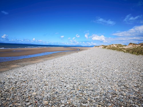 Beach at Morfa Dyffryn