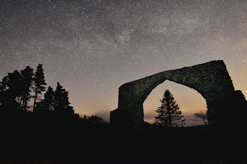 The Arch at night - Dafydd Wyn Morgan