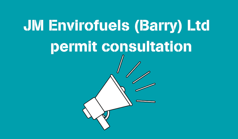 Image with text to announce the start of the consultation