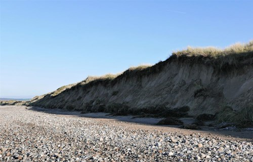 Sand dunes and shingle beach - Whiteford Sands