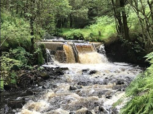 Garwnant hydro scheme on NRW Managed Estate