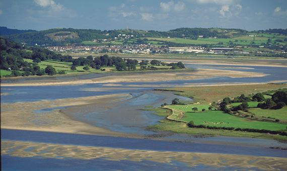 View of the Conwy Estuary