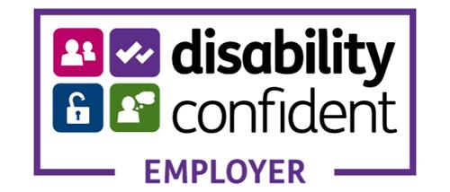 Disability confident employer logo