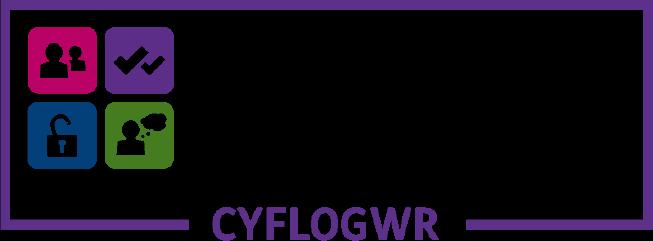 logo cyflogwr Hyderus o ran Anabledd