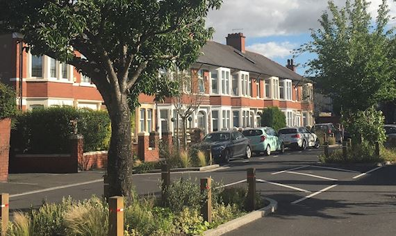 Image showing Greener Grangetown scheme in Cardiff