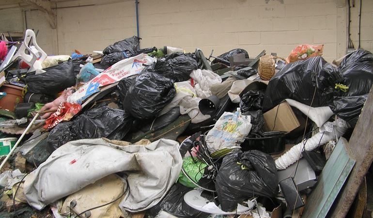Waste dumped in Abergele
