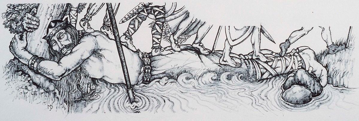 Bendigeidfran by Margaret Jones - National Library of Wales