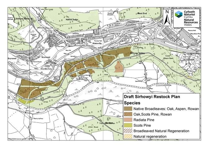 Draft restocking map