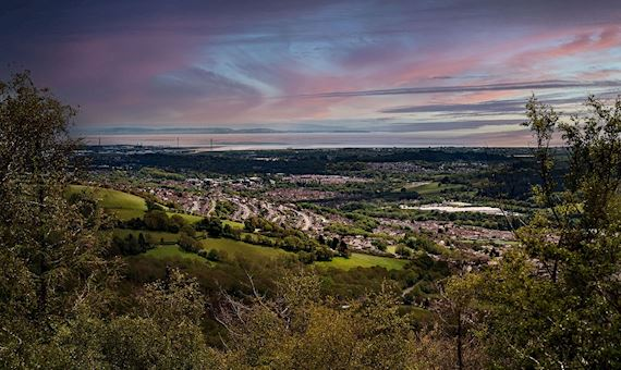View from Cwm Carn Forest Drive